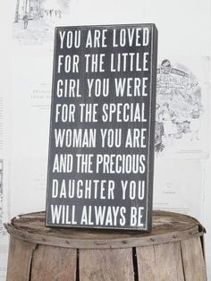 Quote Signs for Home Decoration   Home Decor Gift Items. You Are Loved Box Sign   Quotes/Sayings I love!