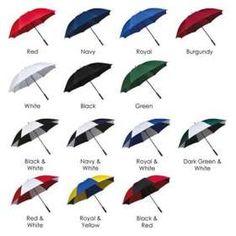 Budget Storm Golf Umbrellas