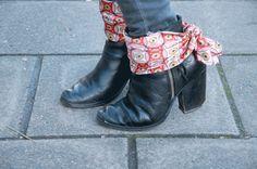 DIY SHOE CLIPS #3 : SILK SCARF | Clones N Clowns by Aimee WoodClones N Clowns by Aimee Wood