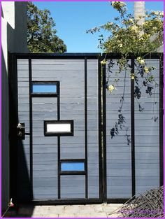 Nice Modern Home Gate Designs