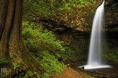 Image: 'Upper+Latourell+Falls' found on flickrcc.net