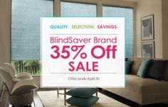 Save 35% off BlindSaver. Offer ends May 21.