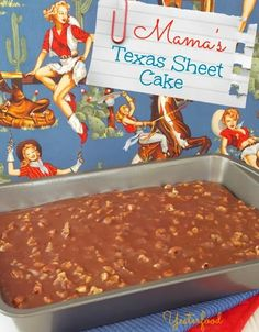 Since this post will be for Texas Women Bloggers, I thought it would be fun to do a very Texas recipe. While Texas Sheet Cake may not have originated in Texas (no one seems to know for sure), it is de