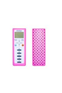 Amazon.com: Pink with Black Polka Dot clickerskin i>clicker2: Cell Phones & Accessories