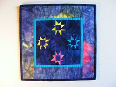 Stars out My Window I  Wall Hanging by WildRoseDesignStudio, $45.00