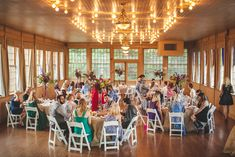 Lenzi and Chris' 52 Guest Reception at The Basin Park Hotel in the Ozark Mountains.. Shawn Marie Photography. See more........... @intimateweddings.com #reception #realwedding #smallwedding