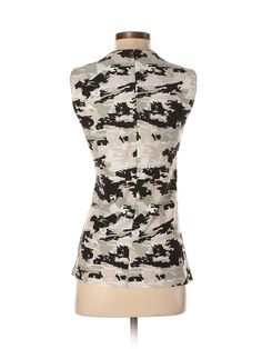 BOSS by HUGO BOSS Sleeveless Top: Size 8.00 Black Women's Tops - $41.99