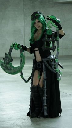 Female Thresh Cosplay View 2 by on DeviantArt Group Costumes, Cosplay Costumes, Cosplay Ideas, Costume Ideas, Best Cosplay, Awesome Cosplay, Game Character, Cosplay Girls, Costumes For Women