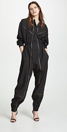online shopping for TRE Natalie Ratabesi Storm Jumpsuit from top store. See new offer for TRE Natalie Ratabesi Storm Jumpsuit Normcore Fashion, Look Fashion, Womens Fashion, Classy Outfits, Casual Outfits, Balloon Pants, Playsuit Romper, Overall, Jumpsuits For Women