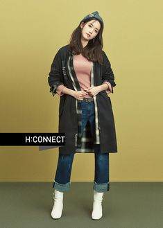 Yoona For 2016 F/W Brand H: Connect | Couch Kimchi