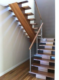 Custom Made Mono Beam Staircase , Building - Stairs & Balustrading - Stairs - Internal Staircases - Internal Timber Staircases