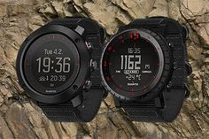 Military inspired variants of Suunto Core and Suunto Traverse Alpha