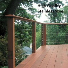 cable and trex deck rails - Google Search