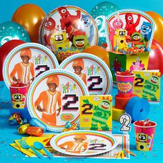 Yo Gabba Gabba! 2nd Birthday Deluxe Party Pack (for 8)    Starting at $39.99