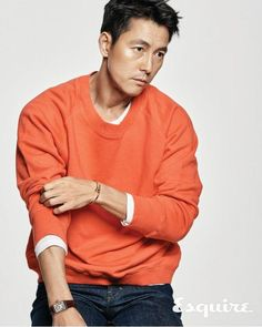 Jung Woo Sung is on the cover of the January 2018 issue of Esquire, check it out! RAWR Source | Esquire