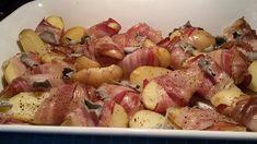 Živánska na plechu - Receptik.sk - Et Yemekleri - Las recetas más prácticas y fáciles Salsa Ranchera, Chia Puding, Fett, Potato Salad, Gnocchi, Tofu, Food And Drink, Treats, Vegetables