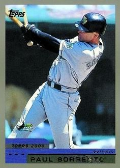 eaa1ec590 2000 Topps  91 Paul Sorrento - Tampa Bay Devil Rays (Baseball Cards) by  Topps.  0.88. 2000 Topps  91 Paul Sorrento - Tampa Bay Devil Rays (Baseball  Cards)