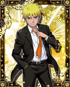 Naruto Uzumaki [Suit]   Narucole by AiKawaiiChan on DeviantArt