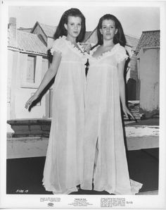 """classichorrormovies: """" Mary and Madeleine Collinson behind the scenes of Twins of Evil """" Hammer Horror Films, Hammer Films, Horror Movies, Sexy Horror, Gothic Horror, Horror Scream, Horror Photos, Female Vampire, Vampires And Werewolves"""