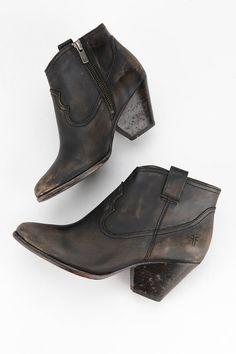 Frye Reina Stone Wash Ankle Boot