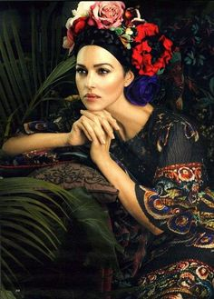 Monica Bellucci in Dolce Gabbana Photography by Signe Vilstrup