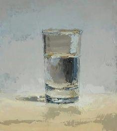 Brian Blackham , magnificent glass of water - magnifique verre d'eau!