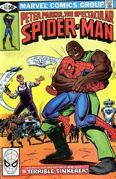 Peter Parker, The Spectacular Spider-Man # 53 by John Romita Jr. & Al Milgrom