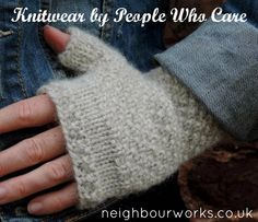 We offer #knitwear by people who care