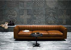 Quilt Sofa by Tacchini Leather Furniture, Sofa Furniture, Sofa Chair, Sofa Set, Luxury Furniture, Living Room Furniture, Modern Furniture, Furniture Design, Sectional Sofa
