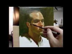 """Frank"" Alla prima painting demo from Tan's Fine Art Studio, by Zimou Tan"