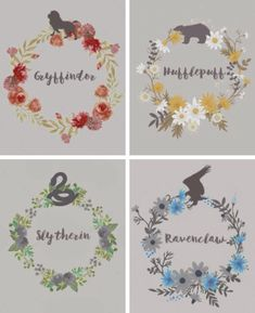 I want to do a cross-stitch of this Ravenclaw design.  Hogwarts Houses: Gryffindor, Ravenclaw, Slytherin, and Hufflepuff #Crossstitchflowers #IAmAGeek