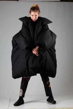Yohji Yamamoto padded coat A/W 2014-15