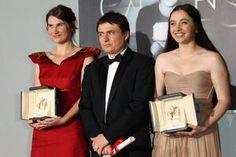 Romanian Success @ Cannes 2012 - Cristian Mungiu, Cosmina Stratan and Cristina Flutur Romania People, City People, Biologist, Cannes, Actors & Actresses, Cinema, Success, Country, Film