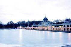 Budapest - Városligeti műjégpálya www. Heart Of Europe, Ice Rink, Hungary, Budapest, Places To Visit, Public, Travel, Viajes, Destinations