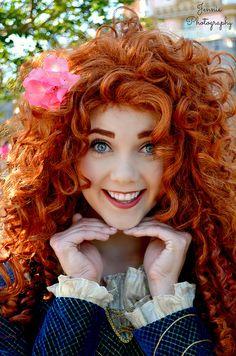 mydisneyadventures: Merida, Flower Princess on Flickr.