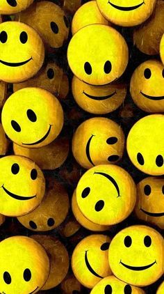 Cool Backgrounds, Phone Backgrounds, Wallpaper Backgrounds, World Smile Day, World Earth Day, Happy Smiley Face, Yellow Smiley Face, Emoji Wallpaper, Camping Theme