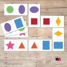 The place to visit for fun educational printables! Preschool Family, Preschool Math, Kindergarten Math, Fun Math, Printable Shapes, Shape Games, Math Tools, My Little Baby, Lessons For Kids