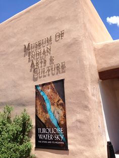 The Museum of Indian Arts and Culture, Museum Hill, Santa Fe, New Mexico