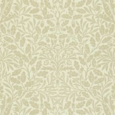 The Original Morris & Co - Arts and crafts, fabrics and wallpaper designs by William Morris & Company | Products | British/UK Fabrics and Wallpapers | Acorn (DMCW210405) | Morris Wallpaper Compendium II