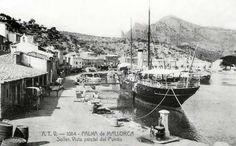 Fotos Antiguas de Mallorca: El Pto. de Sóller