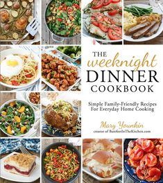 A review of The Weeknight Dinner Cookbook, plus a recipe for Cheesy Ranch…