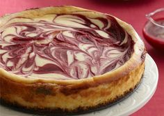 How to Bake and Freeze Treats for the Holidays | White Chocolate Raspberry Cheesecake