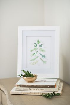 #Free printable holiday art to deck your walls!