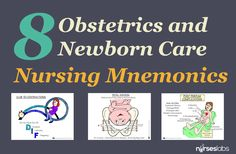 Mastering obstetrics and newborn care is more easier with these visual mnemonics.
