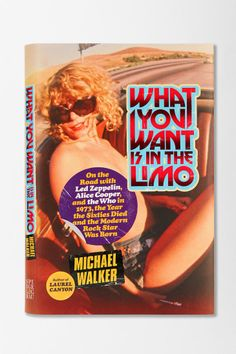 If Sable Starr is on the cover, I want to read it!  What You Want Is In The Limo By Michael Walker