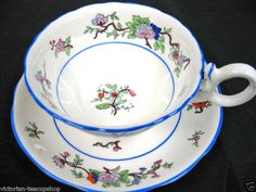 COALPORT OLDER TEA CUP AND SAUCER DUO AWESOME PATTERN | eBay