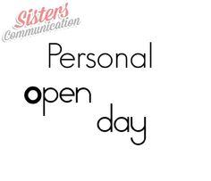 Partono i Personal Open Day di Sisters #Communication #comunicazione #consulenza #openday #strategiedicomunicazione #socialmedia