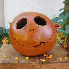 Best Halloween gourds ever...bought mine last year, but tempted to get another....
