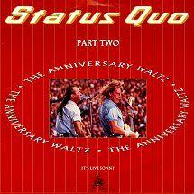 45cat - Status Quo - Anniversary Waltz (Part Two) / Dirty Water - Vertigo - UK - QUO 29