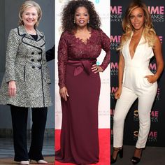 Confidence tips from inspiring First Ladies, female celebrities and CEO's: